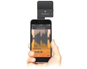 IRIG MIC FIELD - MICROFONO PANORAMICO PER IPHONE, IPAD E IPOD TOUCH