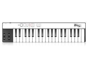 IRIG KEYS - MINI MASTER KEYBOARD A 37 TASTI PER SISTEMI ANDROID, IOS, PC E MAC
