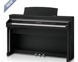 CA67 NERO PIANO DIGITALE CON MOBILE