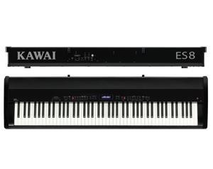 ES8 NERO PIANO DIGITALE