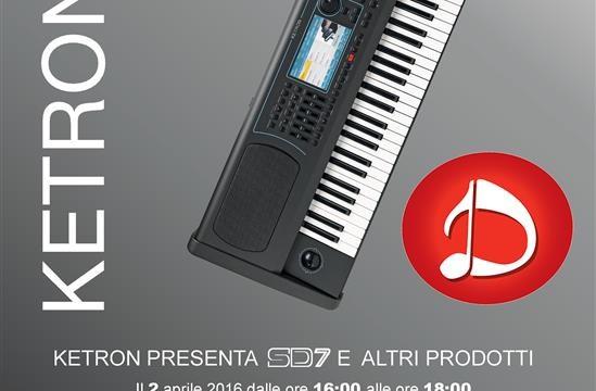 Presentazione Ketron SD7 presso Daminelli Pietro s.r.l.
