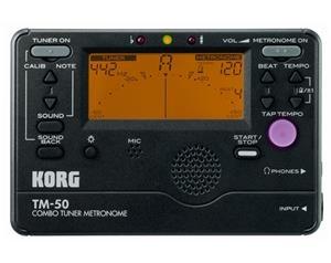 TM-50 BK ACCORDATORE METRONOMO
