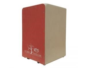 KT37RO CAJON WOOD RED