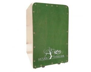 KT37VE CAJON WOOD GREEN