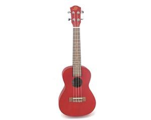 GSK-232 24'' UKULELE CONCERT RED BODY