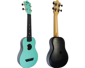 TUS35 ABS LIGHT BLUE TRAVEL UKULELE