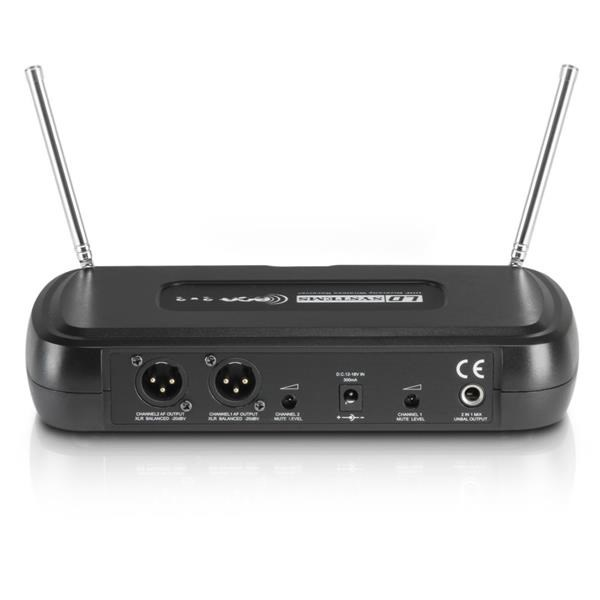 ECO 2X2 HHD SISTEMA MICROFONO WIRELESS