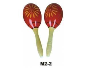 MARACAS LEGNO M2-2 ROSSE
