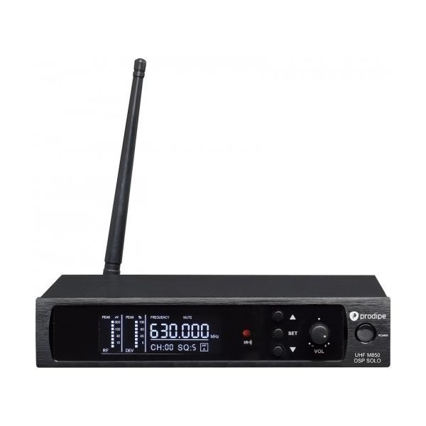 UHF M850 DSP LANEN SOLO VOCAL 1 MICROFONO 100 CH