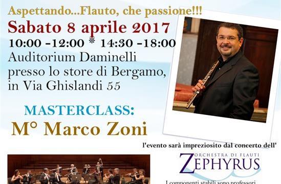Sabato 8 aprile: Aspettando ...Flauto, che passione!!!