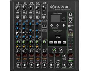 ONYX 8 MIXER CON MULTITRACCIA USB