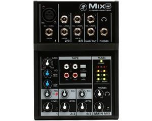 MIX5 MIXER A 5 CANALI