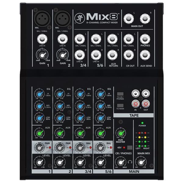MIX8 MIXER 8 CANALI