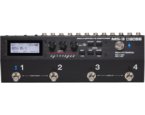 MS-3 FOOTSWITCH MULTI-EFFETTO
