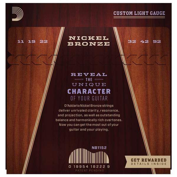 NB1152 NICKEL BRONZE CUSTOM LIGHT 11/52