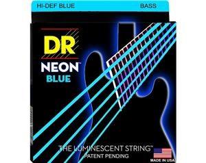 NBB45 45/105 NEON HI-DEF BLUE SET DI CORDE