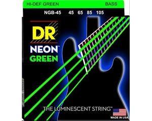 NGB45 45/105 NEON HI-DEF GREEN SET DI CORDE
