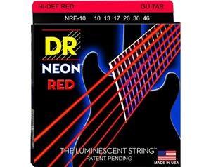 NRE10 10/46 NEON HI-DEF RED SET DI CORDE