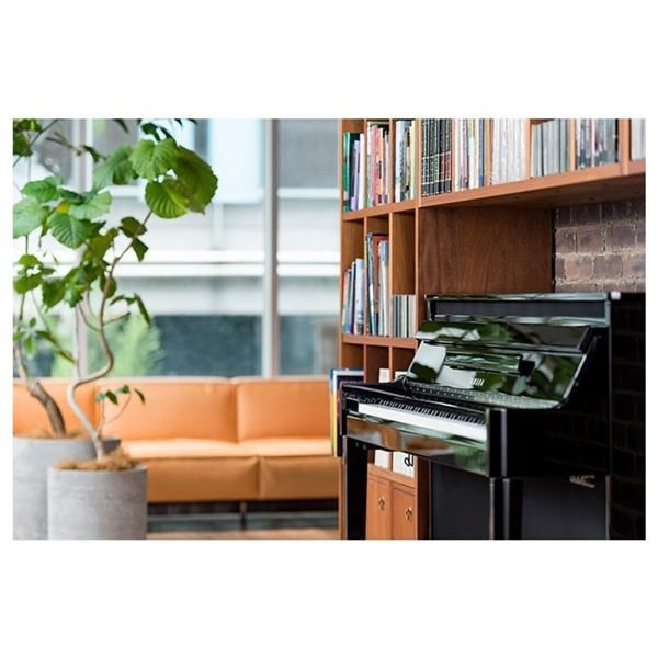 NU1X AVANTGRAND HYBRID BLACK POLISHED PIANO DIGITALE
