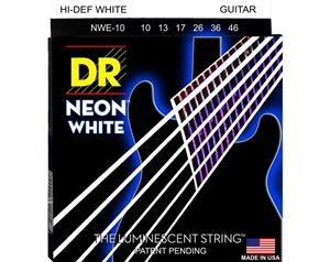 NWE10 10/46 NEON HI-DEF WHITE SET DI CORDE