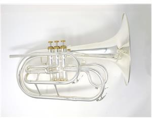OP-SB20S MARCHING MELLOPHONE SILVER