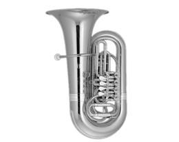 BB210S TUBA SILVER PLATED