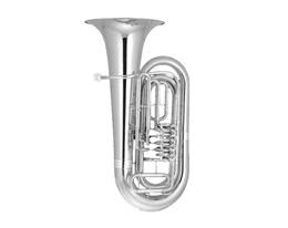 BB500S TUBA SILVER PLATED