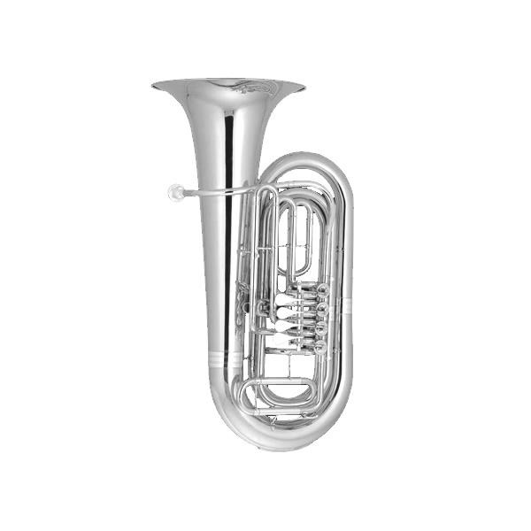 OP-BB-500S TUBA SILVER PLATED