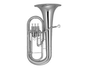 Ep1180s Euphonium Silver Plated