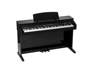 CDP101 NERO LUCIDO PIANOFORTE DIGITALE