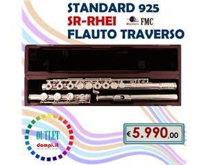 Standard 925 Sr-rhei Flauto Traverso