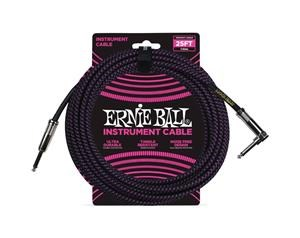 6068 CAVO STRUMENTO BRAIDED BLACK / PURPLE - 7,6 METRI