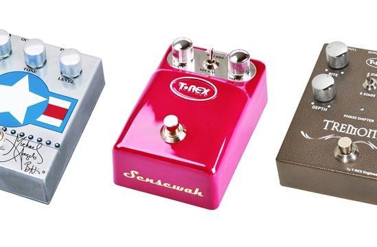 Pedali T Rex: nuova voce alla tua chitarra