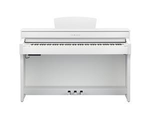 CLP635WH SATIN WHITE PIANO DIGITALE