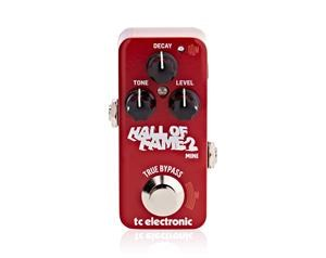 HALL OF FAME 2 MINI REVERBERO PEDALE