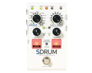 SDRUM STRUMMABLE DRUMS PEDALE