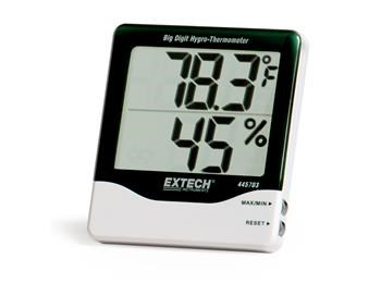 EXTECH HYGRO THERMOMETER BIG DIGIT