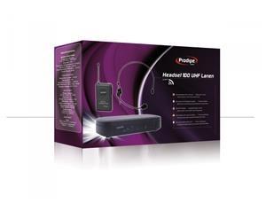 Headset 100 Uhf Lanen Radiomic Pack