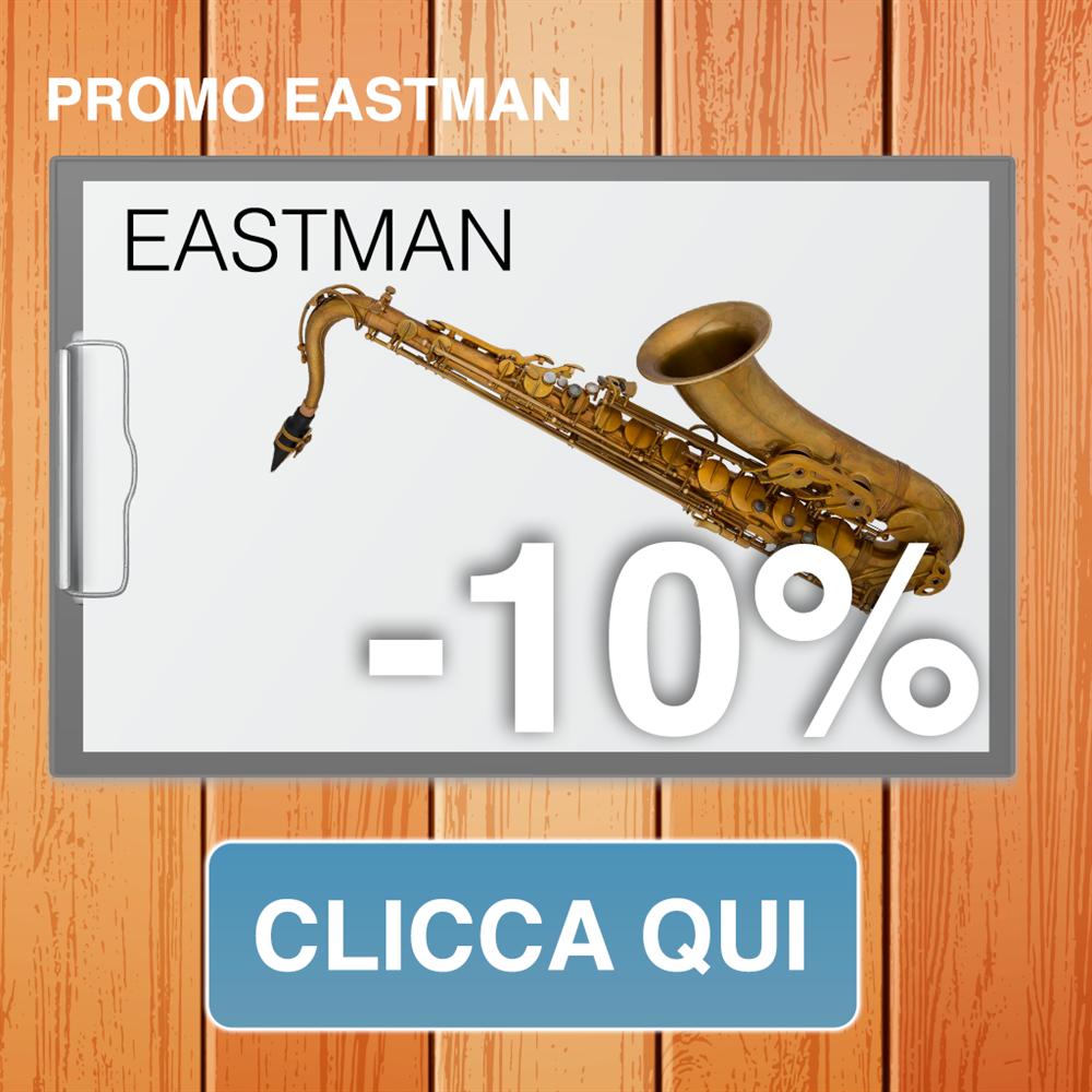 Promo Sassofoni eastman