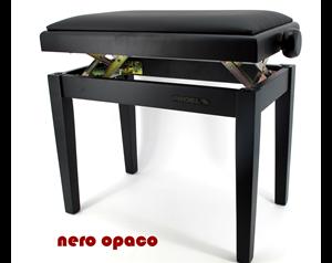 PB90SSBBK NERO OPACO PANCA PIANOFORTE