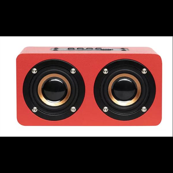 QBT-100 RED CASSA BLUETOOTH