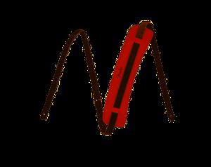 TRACOLLA ORIGINALE RED FIESTA IN PELLE