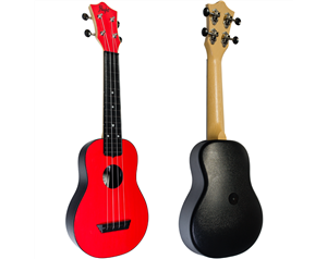 TUS35 ABS RED TRAVEL UKULELE