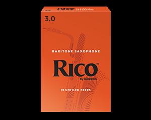 RICO 3 BOX 10 ANCE BARITON SAX
