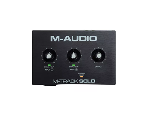 M-TRACK SOLO INTERFACCIA AUDIO