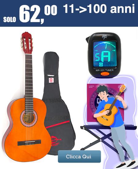 chitarra starter PACK