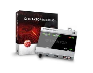 TRAKTOR SCRATCH A6 SCHEDA AUDIO DJ