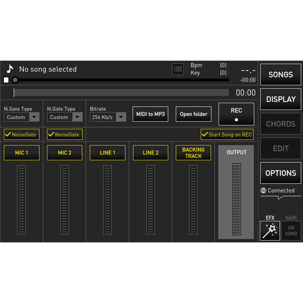 MERISH 5 LETTORE MIDI