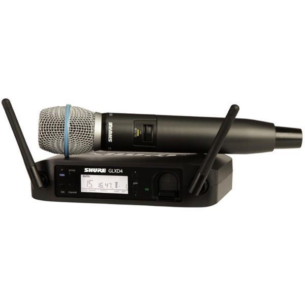 GLXD24E/B87A RADIOMICROFONO PALMARE