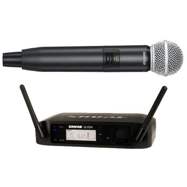 GLXD24E/SM58 RADIOMICROFONO PALMARE